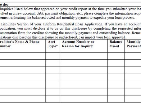 VA Mortgage Loan Application Credit Requirements