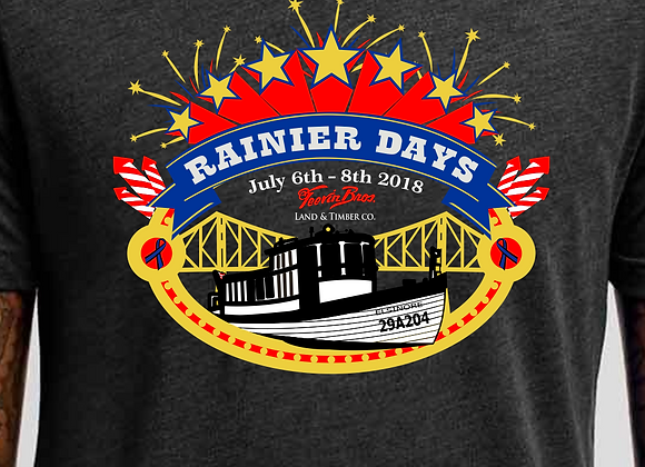 Rainier Days 2018 Shirt / Elisnore Tribute