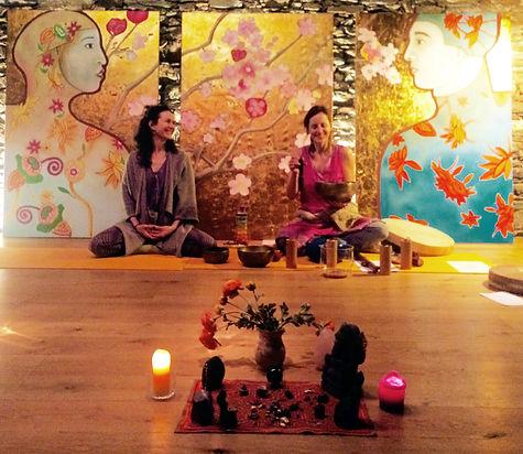 yin yoga et yoga du son