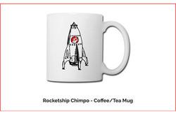 Chimpo Rocketship Mug