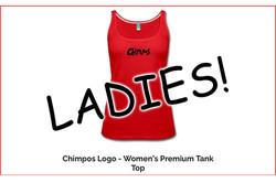 LADIES Chimpos Logo Tank