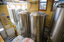 Our 15 barrel Bohemian brewhouse