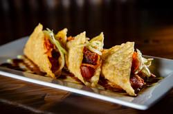 Ahi Poke Tacos