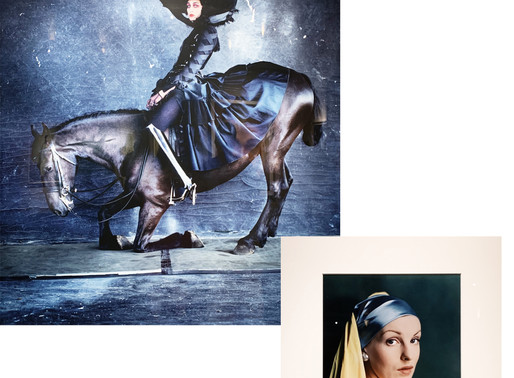 Vogue: Like a Painting