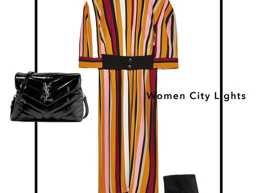 Women City Lights