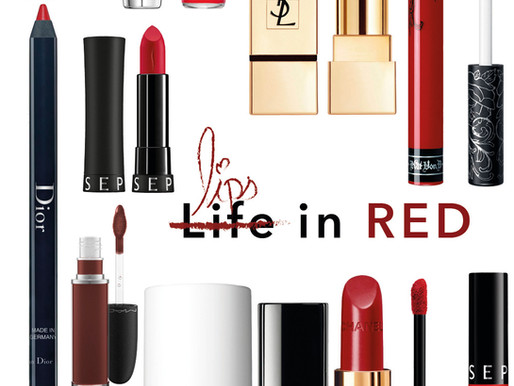 Lips in Red