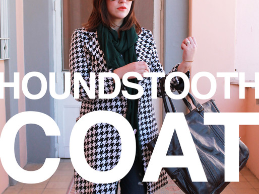 Houndsthooth Coat