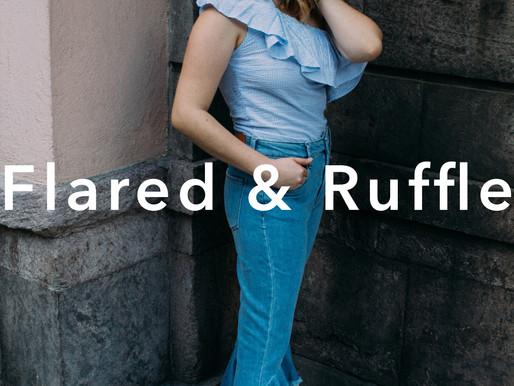 Flared and Ruffle
