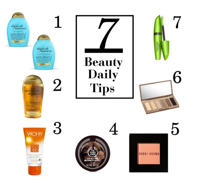 7 Daily Beauty Tips by Dan Redz
