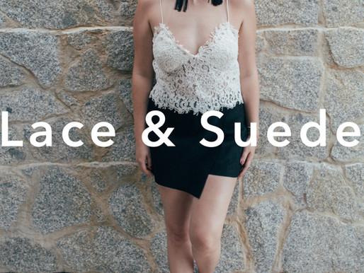 Lace & Suede