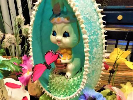 diy Faux Panoramic Sugar Easter Egg...