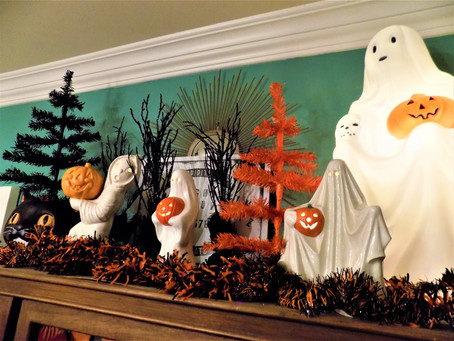 Vintage Halloween Decorations are where it's at!