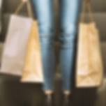 Girl Holding Shopping Bags