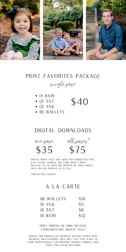 Copy of Print orders of $100+ receive co