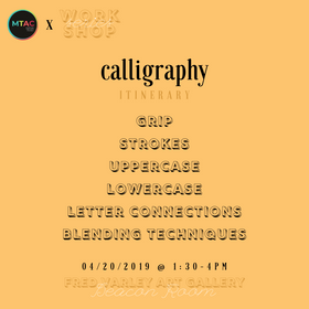 Workshop Series Calligraphy Itinerary.pn