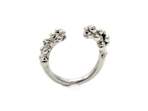 Anello regolabile in argento