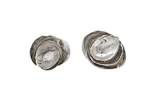 Orecchini argento a perno