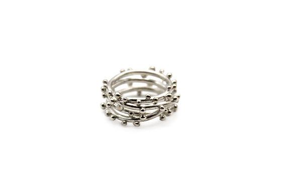 Anello a fascia in argento