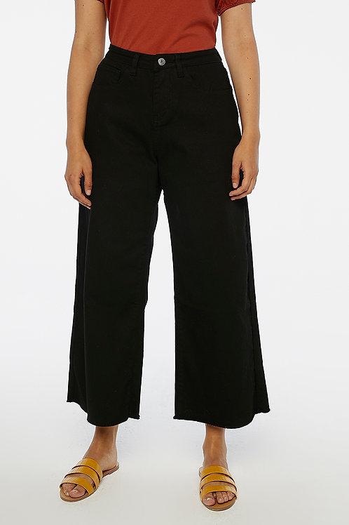 Jeans neri a vita media