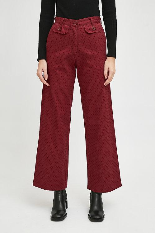 Pantaloni stampa pois