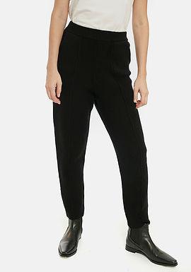 Pantaloni neri in maglia