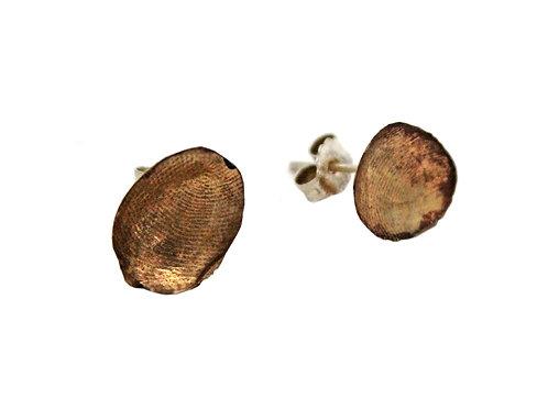 Orecchini a perno in bronzo