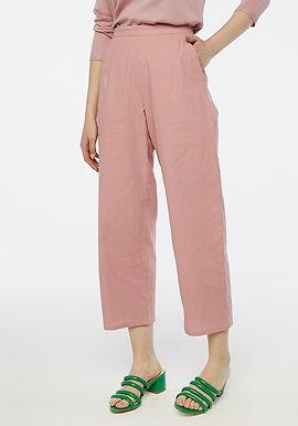 Pantaloni lunghi rosa