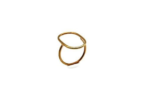 Anello in ottone lucido - Nokike