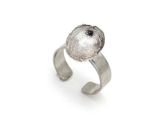 Anello regolabile argento