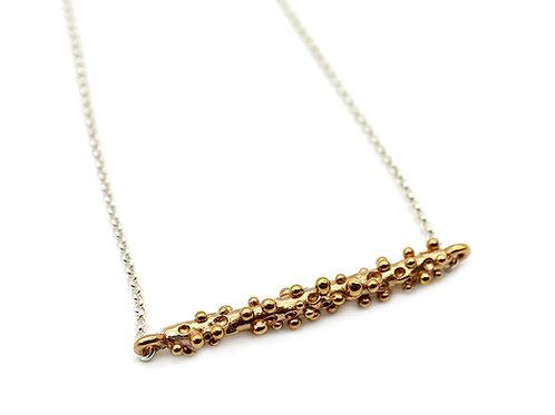 Collana bronzo minimal