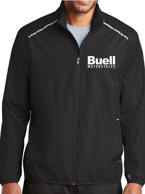 Race Stripe Reflective Full Zip Jacket