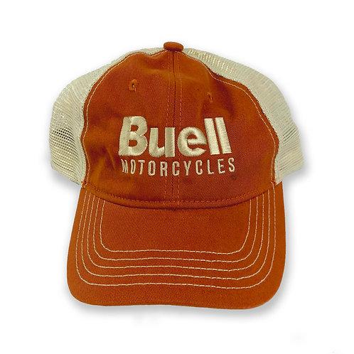 Orange Soft Mesh Back Hat