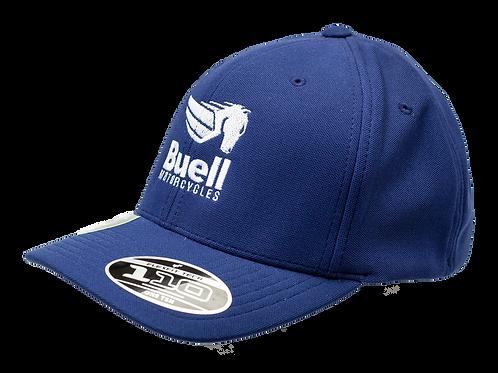 Navy Flexfit Cool & Dry Hat w/ Pegasus
