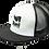 Thumbnail: Flat Bill Snapback Trucker Hat