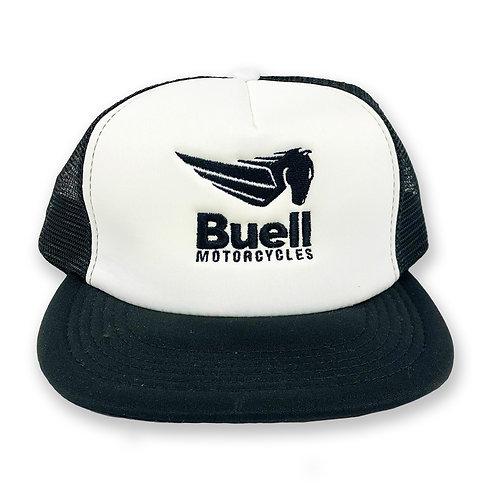 Flat Bill Snapback Trucker Hat