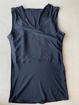 Black full, 42cm, lycra