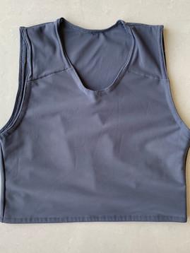Grey half, 32cm, lycra