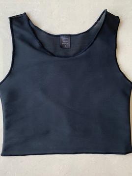 Black half, 33cm, mesh