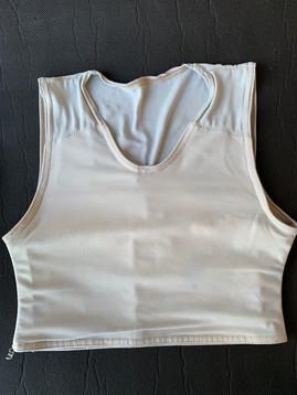 Off white half, 32cm, lycra