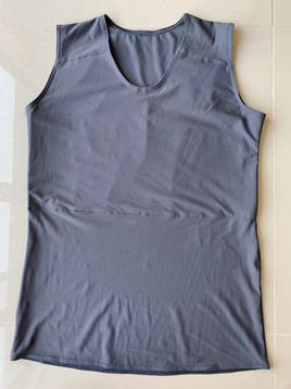 Grey full, 49cm, lycra