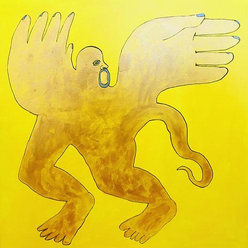 Gargoyle in the Sun