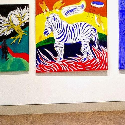 Zebra and the blue baton (2020)