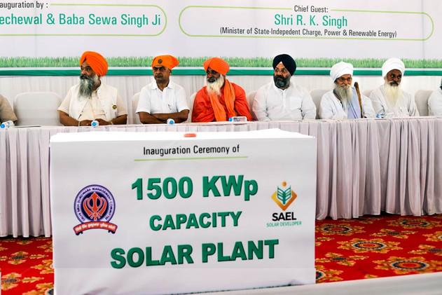 Solar Plant Inauguration