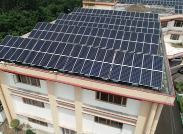 480KW Solar project of Devi Dyal Hi-tech Educational Academy, Punchkula #solarpowerplant