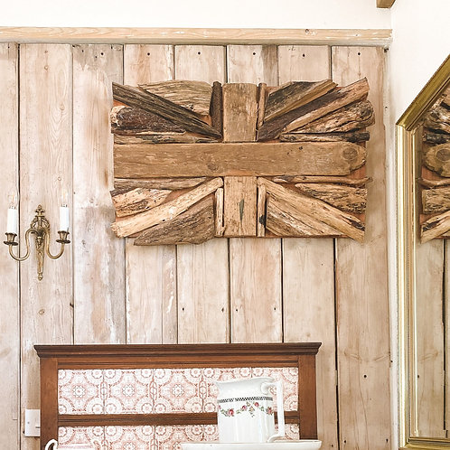 Wooden Union Jack