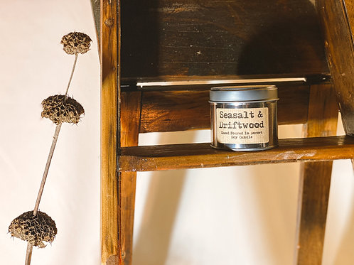 Seasalt & Driftwood Scented Candle