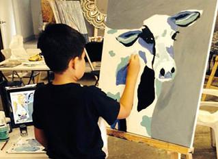 Kids who draw - LOVE them!