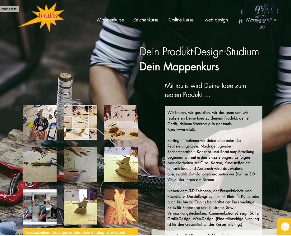Online Mappenkurs Produktdesign
