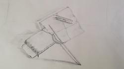 Bleistiftzeichnung