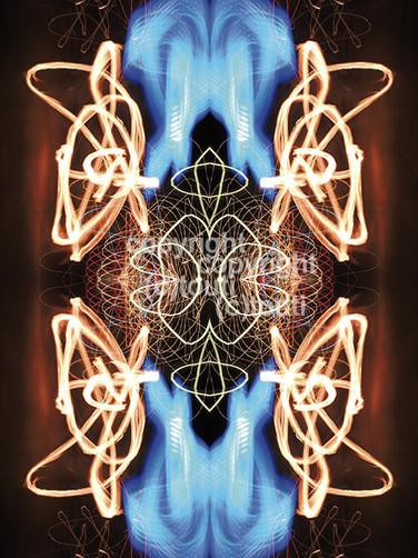 vibes Blue arms bundle energies
